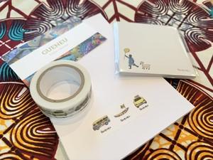【ゲヌ応援品】マスキングテープ&付箋のセット
