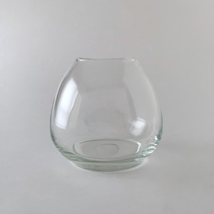 Basic Vase Oval Clear|フラワーベース ベーシック オーバル