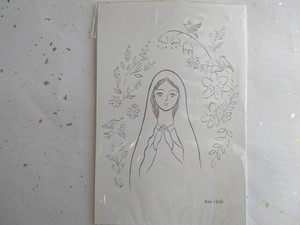 聖母のごとく(絵はがき)