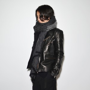 Six Face Wool Stole〈Monotone〉