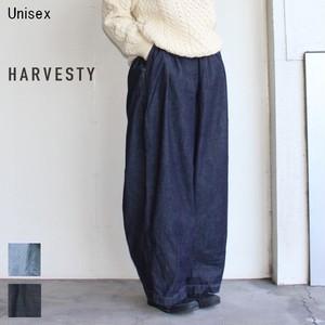 《4月初入荷予定 / 予約販売》 HARVESTY デニムサーカスパンツ CIRCUS PANTS A11801 (O.WASH)