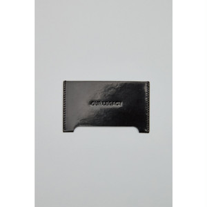 OUR LEGACY Distortion Card Holder Patent Black Black SLG05PBB