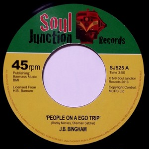 J. B. Bingham - People On A Ego Trip / She's On Strike