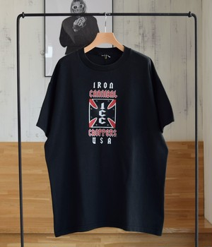 USED 02s T-shirt -IRON CANNIBAL CHOPPERS-