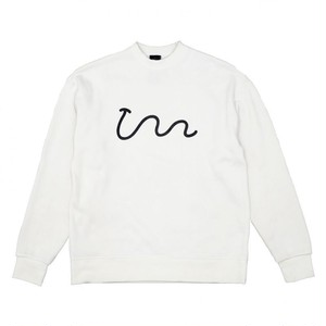 【UAUA】UNIUNI  FLEECE  WHITE