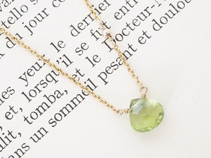 14KGF Perido Mirrort Necklace