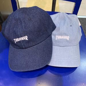 THRASHER : 6Panel LOW CAP / DENIM