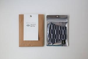 【父の日の贈り物に】ギフトラッピング/西原糸店 『KASU Re MASK』(かすりマスク)5種(Lサイズ)