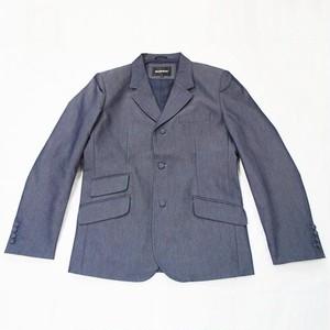 トニックブルー・3ボタン・ジャケット (セットアップ可)