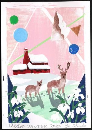 岡田 葉 「Winter 冬」2020 Edition 135/200