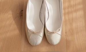 order original ballet shoes (Gold/フラット)