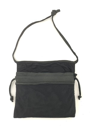 RE.ACT x VINUP 3-Way Red Cross Bag  Black