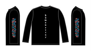 """ゆくえしれずつれづれ""""botanical ロングTシャツ"""""""