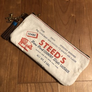 "40's Sausage Sack Pouch, ""STEED'S"""