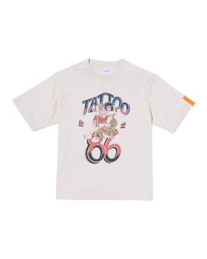 """NEW"" Tattoo86 Tee (Org) / BEIGE"