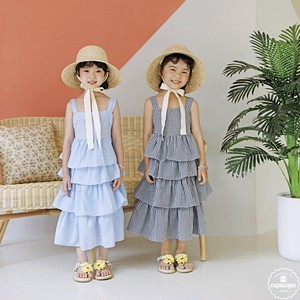 «sold out» bubble kiss Tiered dress ティアードワンピース