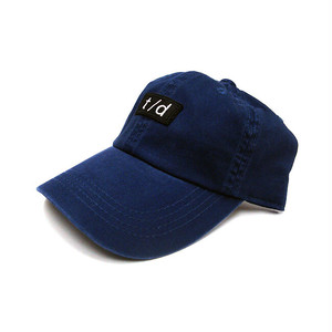 THURSDAY - t/d WASHED CAP (Navy)