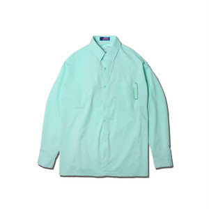 OVER SIZE BIG CLIP SHIRTS / MINT