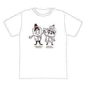 クレヨンしんちゃん×マカロニえんぴつ ハイタッチ Tシャツ 2021映画