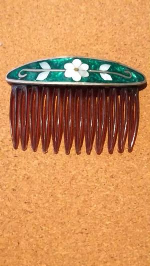 MEXICOインレイ髪飾り