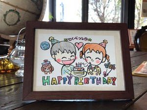 Happy Birthday 〜男の子→女の子〜