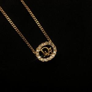 "DIOR ""Rhinestone"" Necklace #01"
