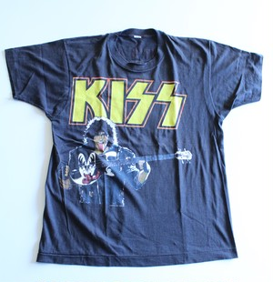 "80's Rock T-shirts ""KISS Paul Stanley"""