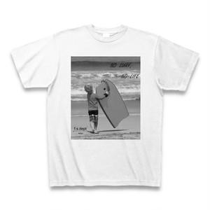 NO SURF,NO LIFE フォトTシャツ
