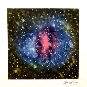 パステルアートNo.10 「弾丸銀河団」