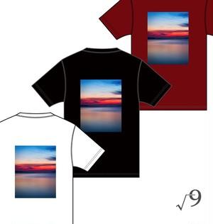 フォトT-Shirts (バックプリント) + Mix Set (√9 オリジナル)