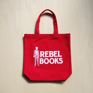 REBEL BOOKSトートバッグ - Red