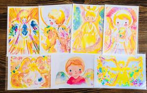 天使のポストカード詰め合わせ