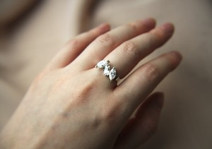 Marquise cut ring CZ