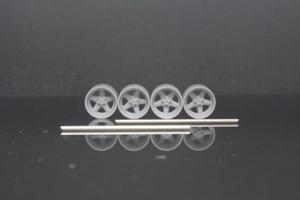 7mm AMG PENTA タイプ 3Dプリント ホイール 1/64 未塗装