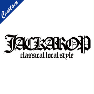 【CUSTOM】JACKAROP OLD ENGLISH LOGO