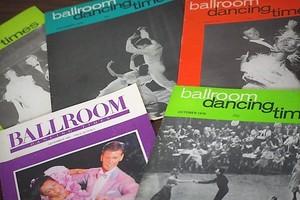 ballroom dancing times OCTOBER1987 -5set-