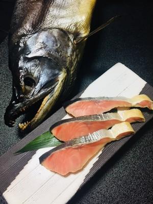 塩引き鮭 1切入 1パック