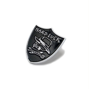 HARD LUCK - HARD SIX LAPEL PIN
