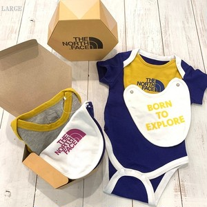 THE NORTH FACE 【BABY】S/S ROMPERS &2P BIB