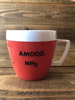 AMOCO STANDARD OIL MUG/アモコ オイル サーモスマグ プラスチック製 70's