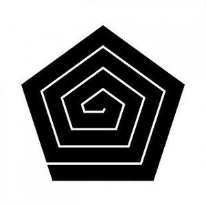 五角稲妻 高解像度画像セット