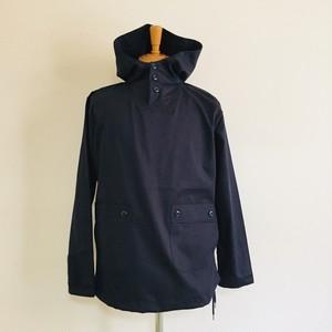 Glossy twill Anorak Jacket Navy