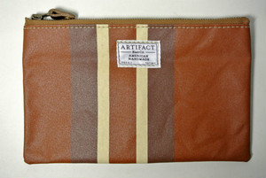 ARTIFACT BAG Co.   No.3 Anything Pouch   (Adobe Stripe)