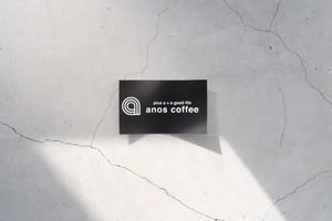 anos coffee ステッカー