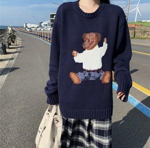 くまさんセーター♡ ニットトップス♡