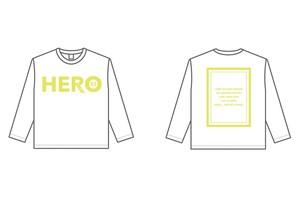 HEROロングTシャツ(W/Y)