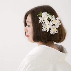 水引髪飾り -デンファレ- 【水引】 受注生産