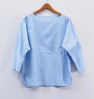 バスクシャツ  (NATURAL LAUNDRY ナチュラルランドリー)