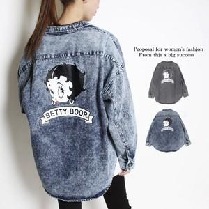 【即納】BETTYBOOPデニムシャツ【21042007】