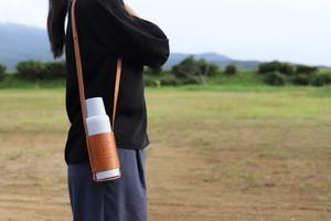 &bottle MOTTO(アンドボトル モット)革ホルダー